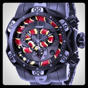 Invicta Snake Face Limited Edition Watch